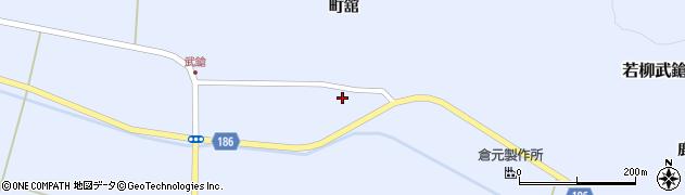 宮城県栗原市若柳武鎗下町浦周辺の地図