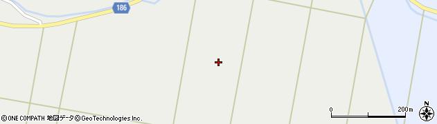 宮城県栗原市若柳有賀向田周辺の地図