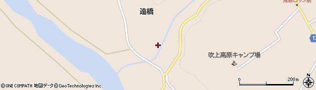 宮城県大崎市鳴子温泉鬼首周辺の地図