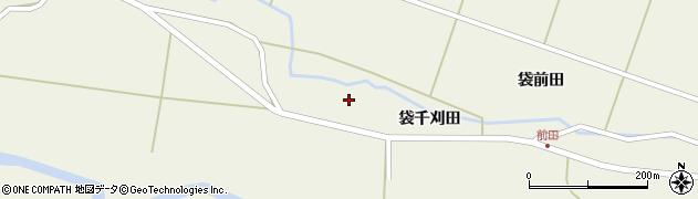 宮城県栗原市鶯沢袋千刈田前周辺の地図