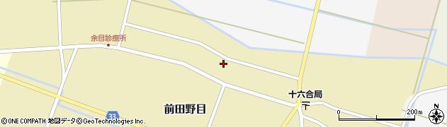 山形県東田川郡庄内町前田野目田割41周辺の地図