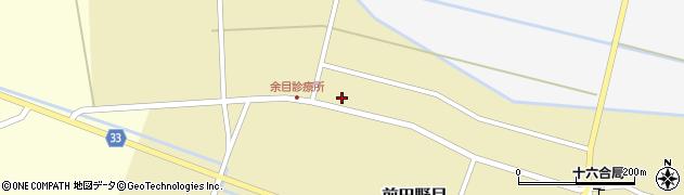 山形県東田川郡庄内町前田野目田割54周辺の地図