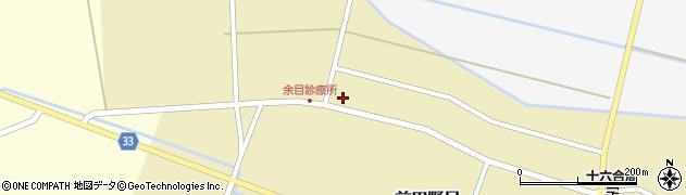 山形県東田川郡庄内町前田野目田割57周辺の地図