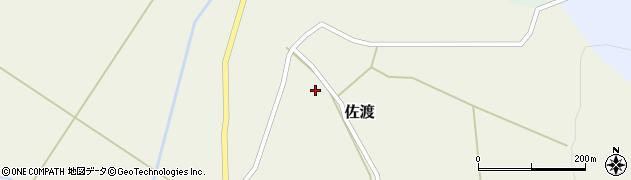 山形県最上郡鮭川村佐渡907周辺の地図