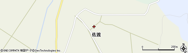 山形県最上郡鮭川村佐渡958周辺の地図