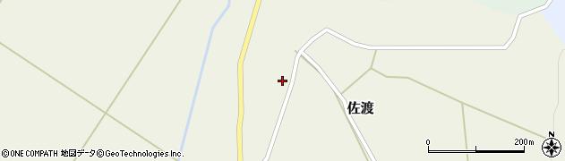 山形県最上郡鮭川村佐渡904周辺の地図