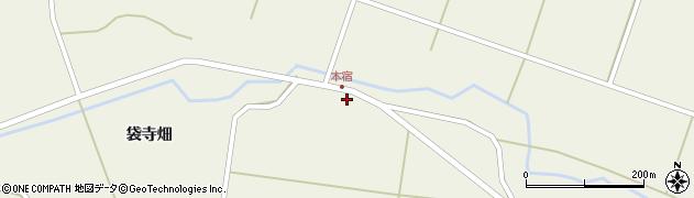 宮城県栗原市鶯沢袋古川前周辺の地図