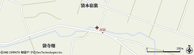 宮城県栗原市鶯沢袋古川沖周辺の地図