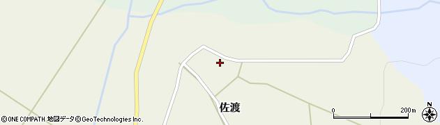 山形県最上郡鮭川村佐渡968周辺の地図