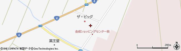 宮城県栗原市金成小迫周辺の地図