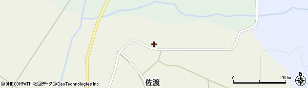 山形県最上郡鮭川村佐渡980周辺の地図