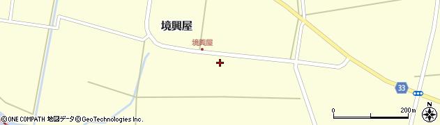 山形県東田川郡庄内町境興屋前割1周辺の地図