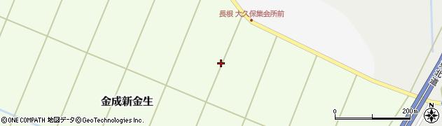 宮城県栗原市金成新金生周辺の地図