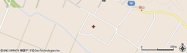 宮城県栗原市栗駒八幡館野周辺の地図