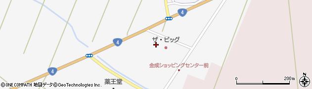 宮城県栗原市金成小迫荒崎周辺の地図