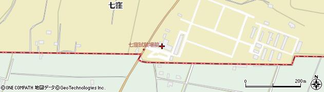 山形県酒田市浜中八窪1周辺の地図