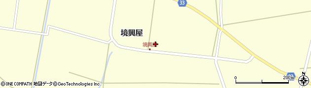 山形県東田川郡庄内町境興屋富慶1周辺の地図