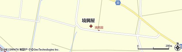 山形県東田川郡庄内町境興屋富慶4周辺の地図