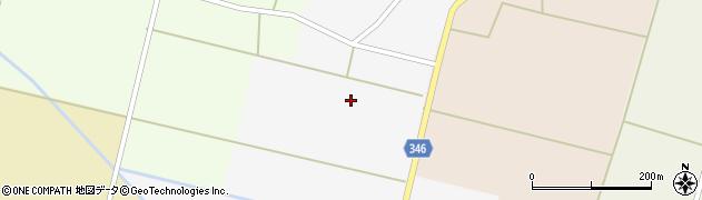 山形県東田川郡庄内町南野新田中割周辺の地図
