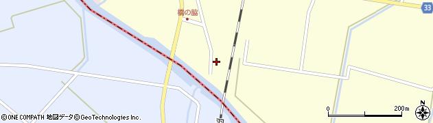 山形県東田川郡庄内町西袋橋之脇周辺の地図