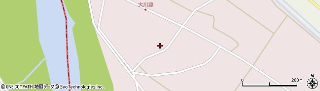 山形県酒田市大川渡五反割37周辺の地図
