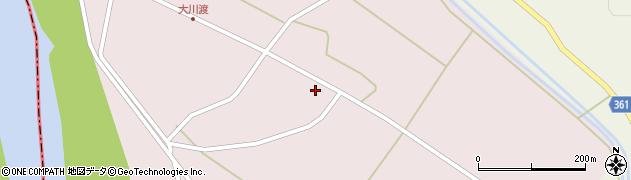 山形県酒田市大川渡五反割2周辺の地図