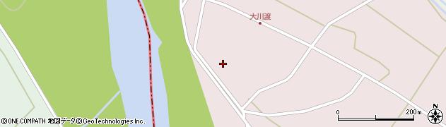 山形県酒田市大川渡五反割64周辺の地図