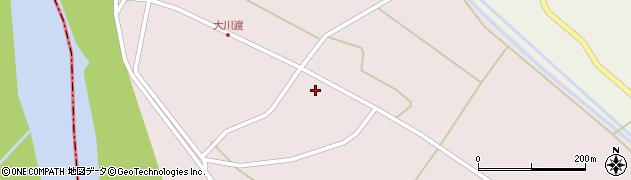 山形県酒田市大川渡五反割7周辺の地図