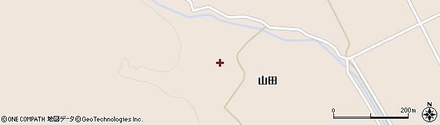 宮城県大崎市鳴子温泉鬼首(山田)周辺の地図