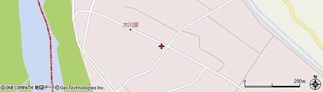 山形県酒田市大川渡五反割35周辺の地図