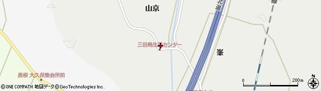 宮城県栗原市若柳有賀地田周辺の地図