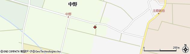 山形県東田川郡庄内町中野前割17周辺の地図