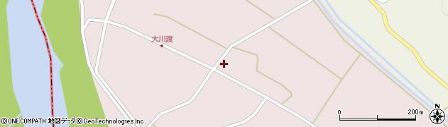 山形県酒田市大川渡五反割32周辺の地図