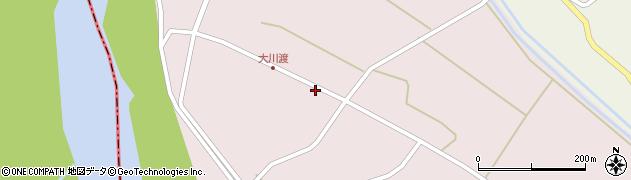 山形県酒田市大川渡五反割39周辺の地図