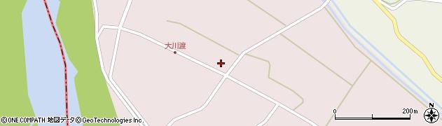 山形県酒田市大川渡五反割34周辺の地図