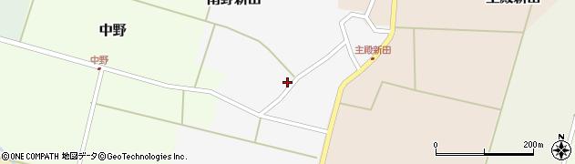 山形県東田川郡庄内町南野新田前割15周辺の地図