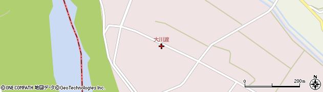 山形県酒田市大川渡五反割56周辺の地図