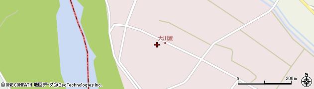山形県酒田市大川渡五反割57周辺の地図