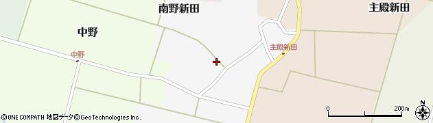 山形県東田川郡庄内町南野新田前割17周辺の地図