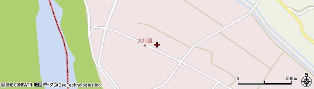 山形県酒田市大川渡五反割52周辺の地図