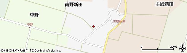 山形県東田川郡庄内町南野新田前割18周辺の地図