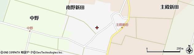 山形県東田川郡庄内町南野新田前割25周辺の地図