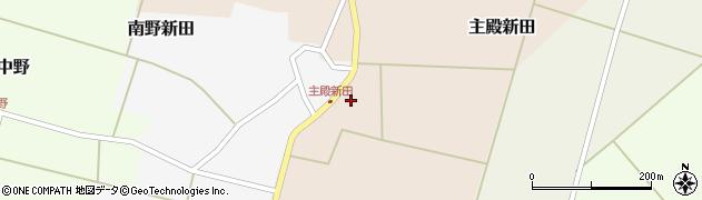 山形県東田川郡庄内町主殿新田前割25周辺の地図