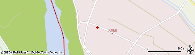 山形県酒田市大川渡五反割83周辺の地図