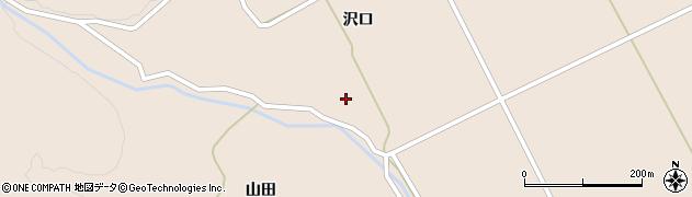宮城県大崎市鳴子温泉鬼首(沢口)周辺の地図