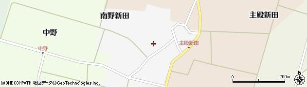 山形県東田川郡庄内町南野新田前割26周辺の地図