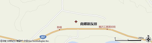 宮城県栗原市鶯沢南郷新反田周辺の地図