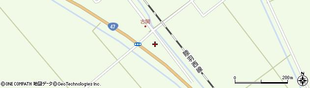 山形県東田川郡庄内町古関土手の下11周辺の地図