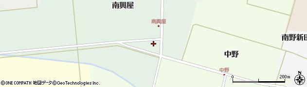 山形県東田川郡庄内町南興屋前通割71周辺の地図