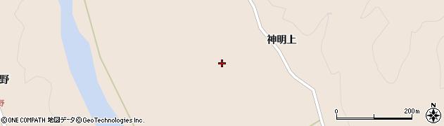 宮城県大崎市鳴子温泉鬼首(神明下)周辺の地図